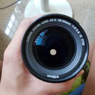 Canon EFS 18-55mm f4-5.6 lens