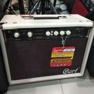 Cort Ampli Acoustic Guitar Amplifier AF 30 DP 0% Ckp Adm 199.000