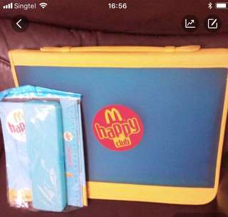 Macdonald drawing file+note bk+pencil