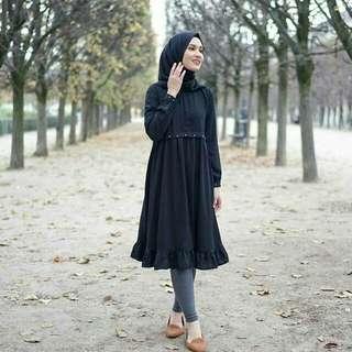 Andara Mutiara Tunik Black