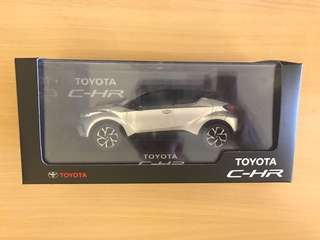 Brand New In Box Toyota C-HR Scale Model