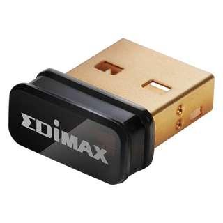 Edimax 150Mbps Wireless IEEE802.11b/g/n nano USB Adapter EW-7811Un