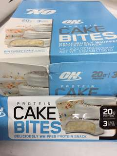 Optimum cake bites