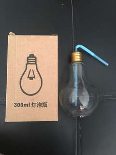 Bulb Glass Flask (300ml)