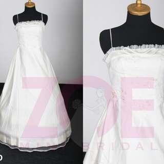Gaun pengantin simple