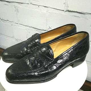 Christian Dior Loafer 鱷魚皮鞋UK6