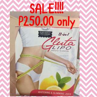 Glutalipo Slimming Juice 12 in 1