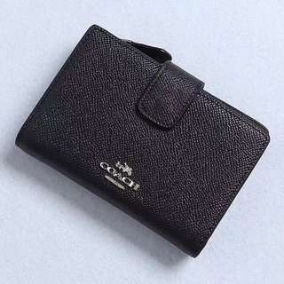 Coach Medium Wallet colour Black