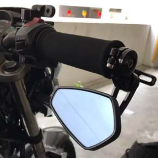 BAR END MIRROR WITH BALANCER UNIVERSAL