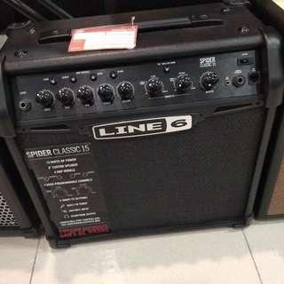 Line 6 Guitar Ampli Spider Classic 15 Dp 0% Cuma Admin 199.000