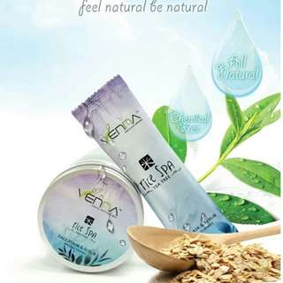 All Natural Venna Rice Spa with Tea Tree