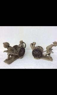Mini vintage  Clay displays👍