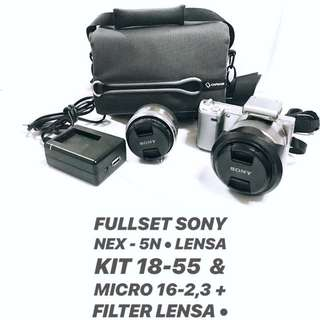 PRELOVED DIJUAL kamera Sony NEX-5N