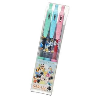 Japan Disneystore Disney Store Mickey Mouse & Friends Good Laugh Ball Pen Sarasa Clip 0.5 Gel
