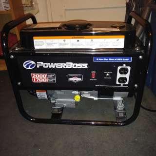Powerboss generator
