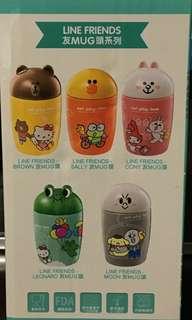 7-11 line friends 友mug 頭系列 - LEONARD 青蛙仔 杯