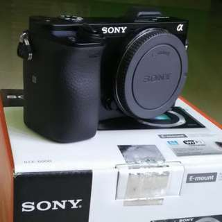 Sony Alpha A6000 Body Only - Kredit tanpa CC Dp 10%