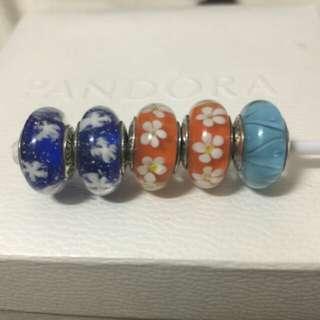 【可PC免運,淺藍色已售出】Glamulet琉璃珠4個