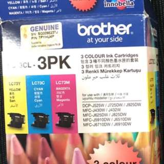 Brother colour ink cartridge