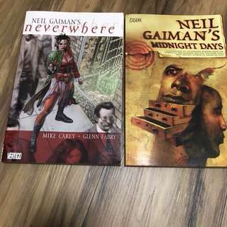 Neil Gaiman Graphic novels