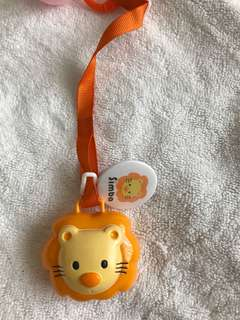 Simba pacifier holder and mam pacifier