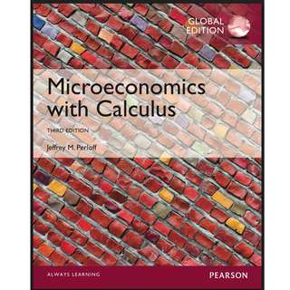 Microeconomics with Calculus, Third Edition PDF