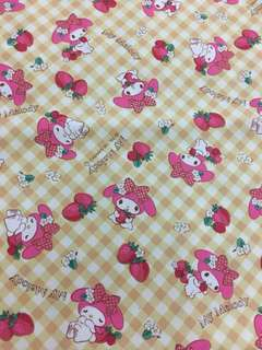 My melody cotton fabric