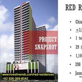 SMDC Red Residences @ Chino Roces, Makati City