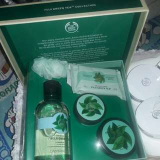 Fuji Greentea Collection by the body shop