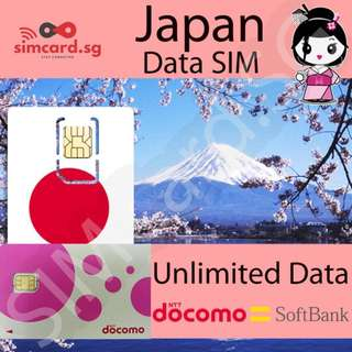 🇯🇵 Japan Prepaid SIM Card [3G/4G Network]