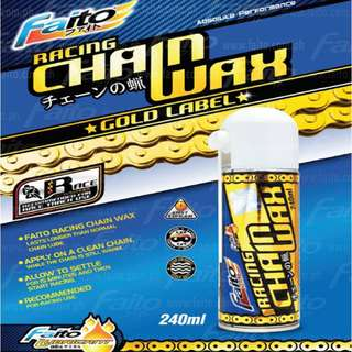 RACING CHAIN WAX GOLD LABEL