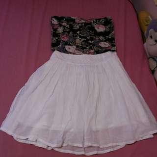 Forever 21 tube and skirt