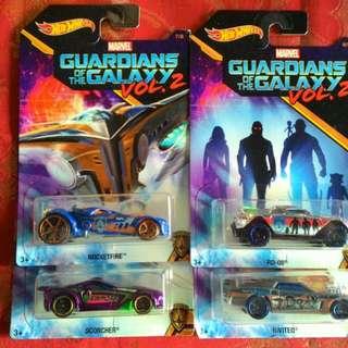 SALE SALE Guardians of the Galaxy Hotwheels