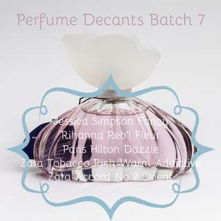 Perfume Decants Batch 7
