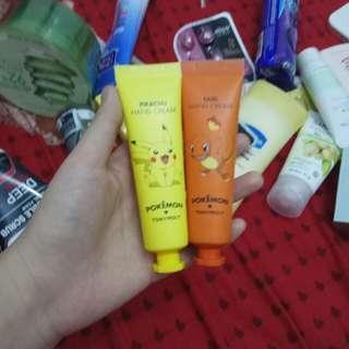 Tonymoly hand cream pokemon pikachu dan fairi