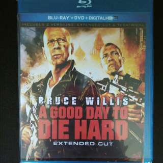 A good day to die hard Blu Ray Movies