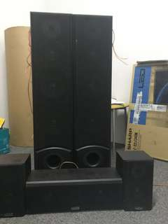 Nuodi Speakers only 1 set