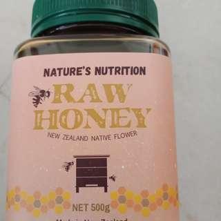 Raw honey from New Zealand