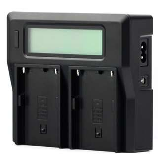 Canon LP-E6 Dual Charger (with Battery Life Indicator)