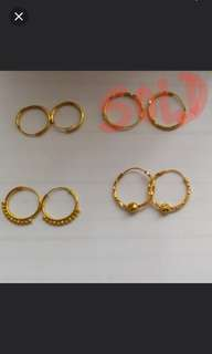 916 Earrings @ current gold price
