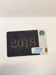 Starbucks Gift Card (2018 Limited Edition)