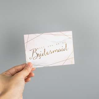 Bridesmaid Card 2