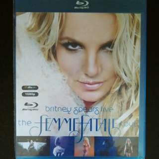 Britney spears live concert Blu Ray