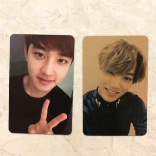 exo photocard (original album exodus)