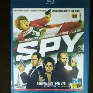 Spy Blu Ray Movies