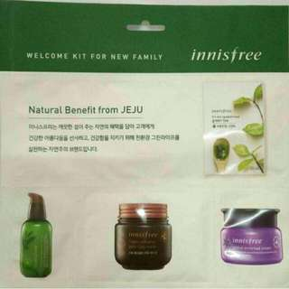 Innisfree 4 In 1 Welcome Kit