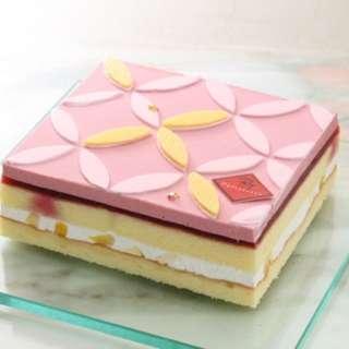 代購新竹RT5寸桑妮覆盆子香草蛋糕