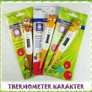 Thermometer anak.karakter animal.