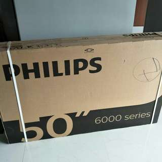 Philips 50inch LED 4K smart tv