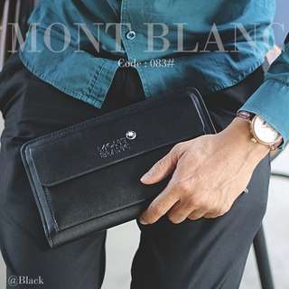 Hand Bag MONT BLANC 083-2#p   Size : 23x3x14cm Material : PU Leather Ready 2 colours : - Black - Khaki Spesifikasi : - Dlman 4 rangkap - Tali Pendek - Tempat kartu - Free Ballpoint New Model Berat : 0,4 kg/pcs   H 180rb